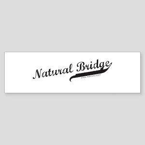 Natural Bridge Bumper Sticker