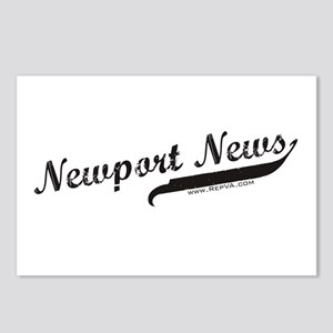 Newport News Postcards (Package of 8)