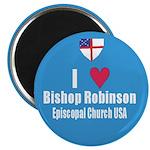 Episcopal Church: I Love Bishop Robinson Magnet