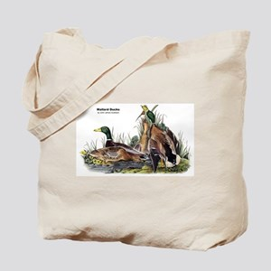 Audubon Mallard Ducks Tote Bag