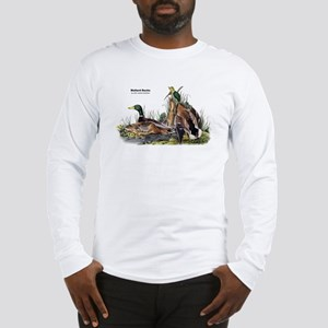 Audubon Mallard Ducks (Front) Long Sleeve T-Shirt