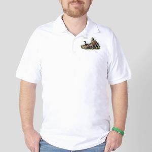 Audubon Mallard Ducks Golf Shirt