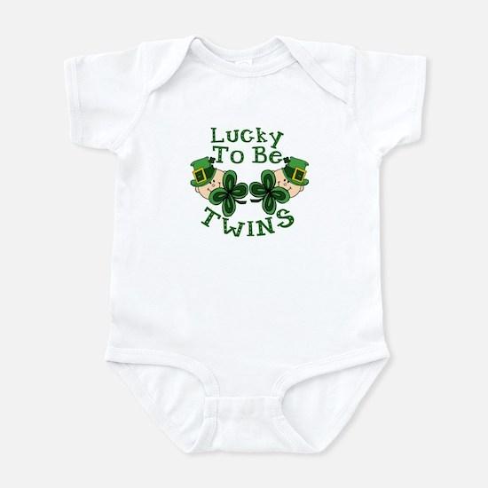Lucky TWINS Infant Bodysuit