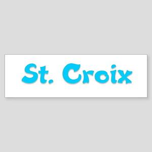 St. Croix Bumper Sticker