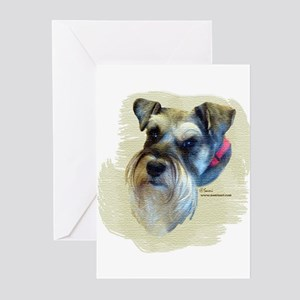 Billi the Schnauzer Greeting Cards (Pk of 10)