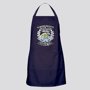 I Am A Surgical Tech T Shirt Apron (dark)