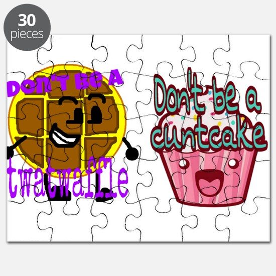 Cuntcake and twatwaffle humor Puzzle