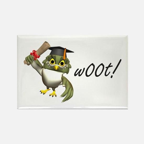 w00t! Graduation Rectangle Magnet (100 pack)