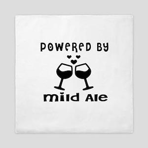 Powered By Mild Ale Queen Duvet