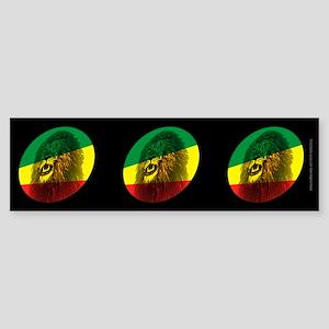 Jah Lion Dark Bumper Sticker