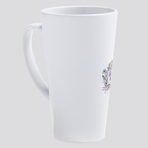EAGBOD 17 oz Latte Mug