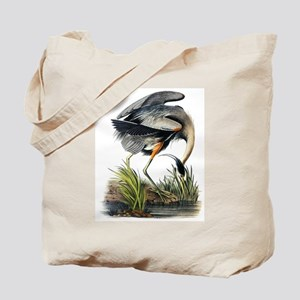Audubon Great Blue Heron Tote Bag