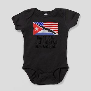 Half Cuban Half American Awesome Body Suit