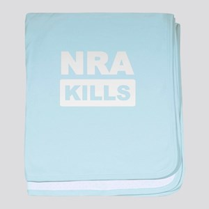 NRA Kills baby blanket