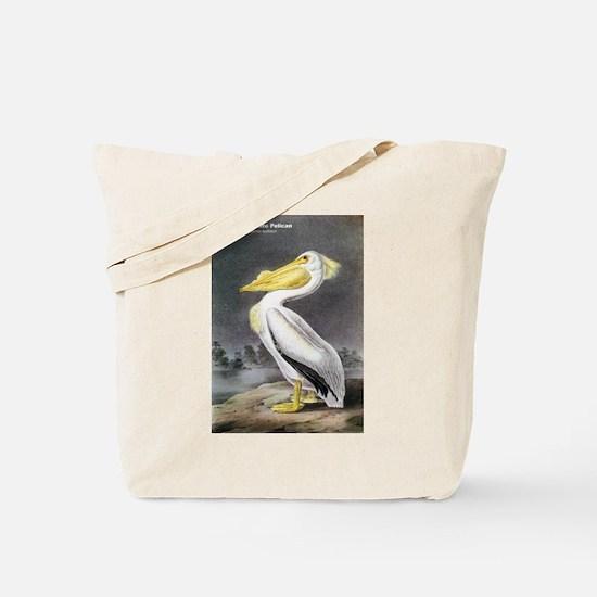 Audubon American White Pelican Tote Bag