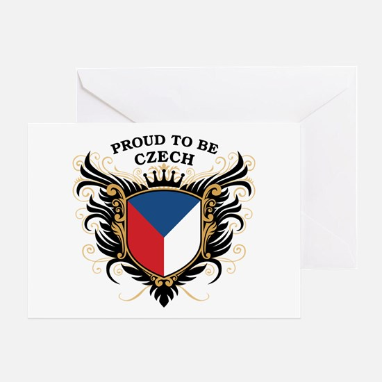 Proud to be Czech Greeting Card