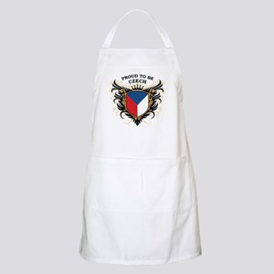 Proud to be Czech BBQ Apron