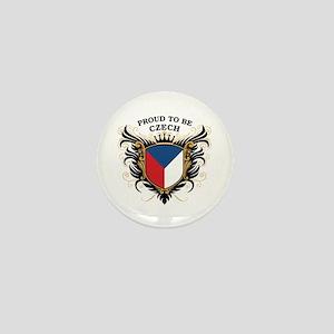 Proud to be Czech Mini Button