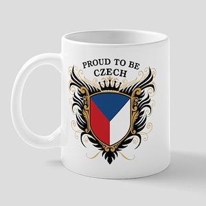 Proud to be Czech Mug