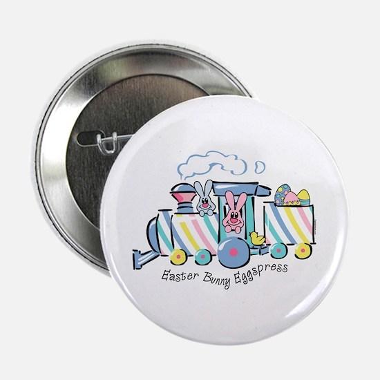 """Easter Bunny Eggspress 2.25"""" Button"""