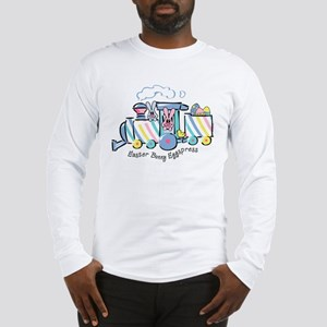 Easter Bunny Eggspress Long Sleeve T-Shirt