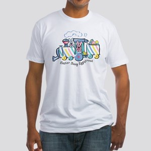 Easter Bunny Eggspress Fitted T-Shirt