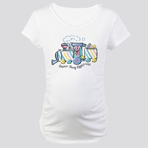 Easter Bunny Eggspress Maternity T-Shirt