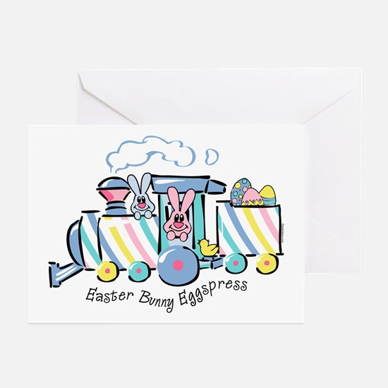 Easter Bunny Eggspress Greeting Cards (Pk of 20)