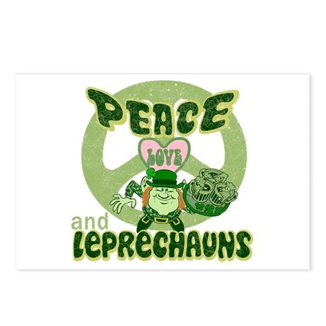 Peace Love and Irish Folklore Postcards (Package o