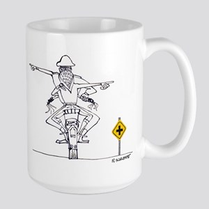 Big Crossroads Large Mug