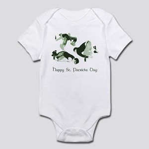 Happy St Patricks Day Infant Bodysuit