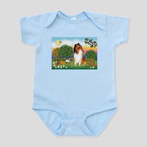 Appletrees / Collie (s) Infant Bodysuit