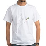Dove with Olive Branch White T-Shirt
