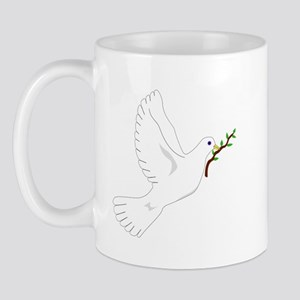 Dove with Olive Branch Mug