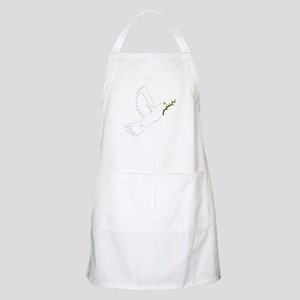Dove with Olive Branch BBQ Apron
