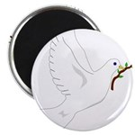 Dove with Olive Branch Magnet