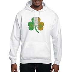 The Masons Irish Clover Hoodie
