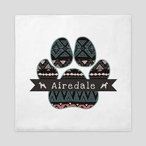 Airedale Queen Duvet
