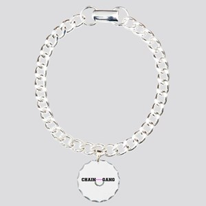 CHAIN GANG - PINK! Charm Bracelet, One Charm