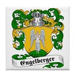 Engelberger Family Crest Tile Coaster