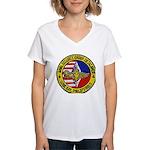 NSGD Subic Bay Women's V-Neck T-Shirt
