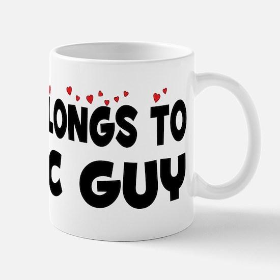 Belongs To A HVAC Guy Mug