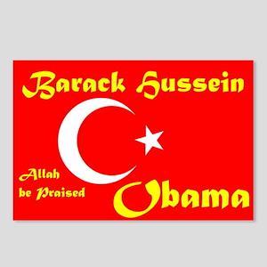 MUSLIM OBAMA Postcards (Package of 8)