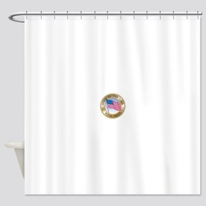 MADE IN THE USA SEAL Shower Curtain