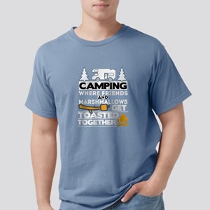 Camping Friends Marshmallows Get Toasted C T-Shirt