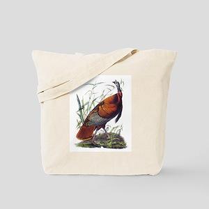 Audubon Wild Turkey Bird Tote Bag