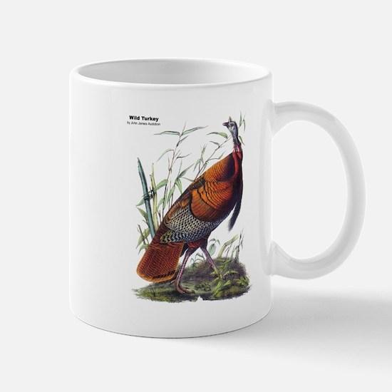 Audubon Wild Turkey Bird Mug