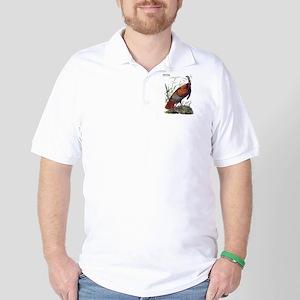 Audubon Wild Turkey Bird Golf Shirt