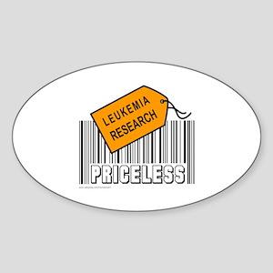 LEUKEMIA CAUSE Oval Sticker