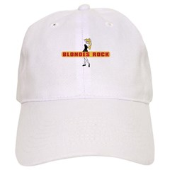 BLONDES ROCK Baseball Cap